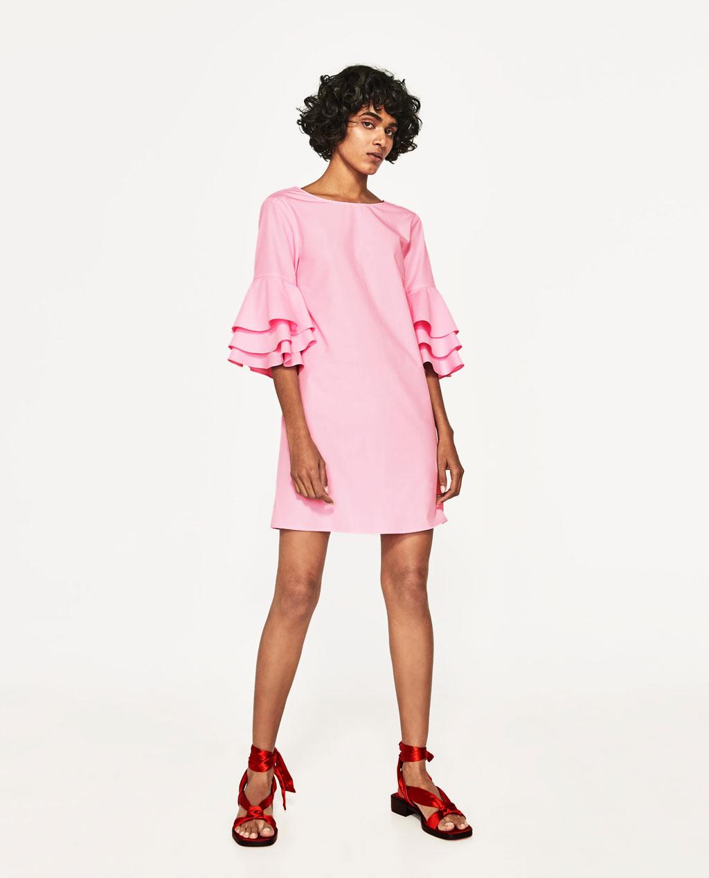 Hermosa Trajes De Boda Zara Ornamento - Colección de Vestidos de ...