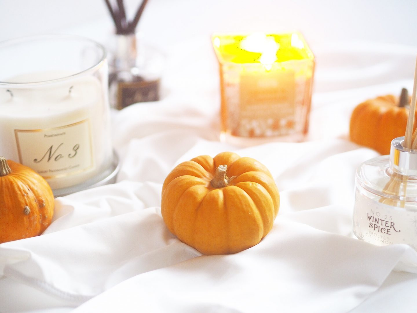ASDA orange and cinnamon candle