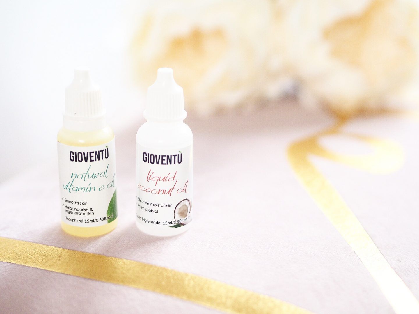 Gioventu Natural Vitamin Oil And Coconut Oil Put To The Test