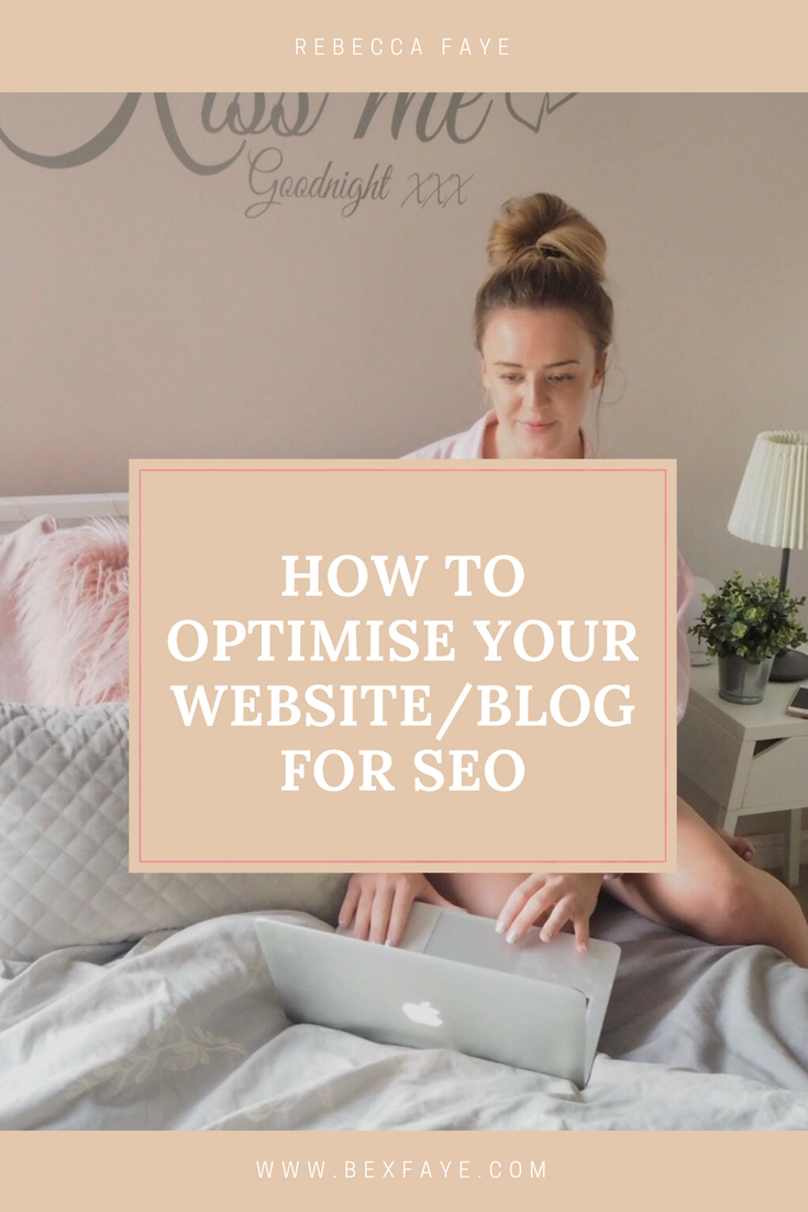 how to optimise your website for seo