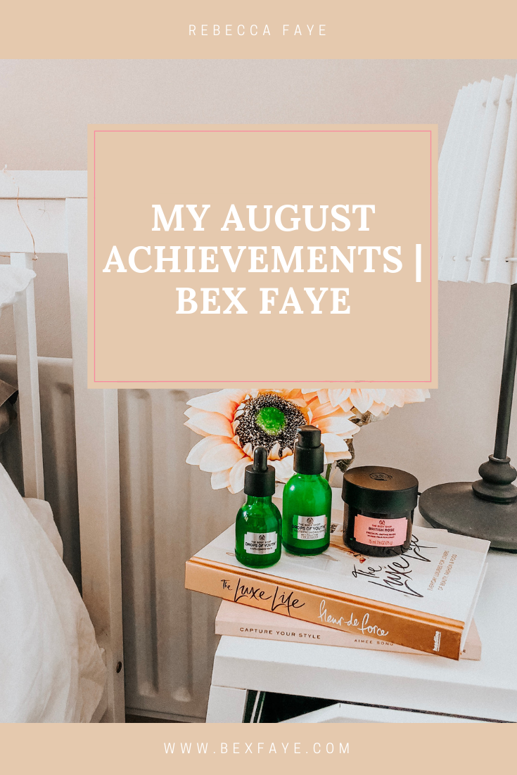 My august achievements