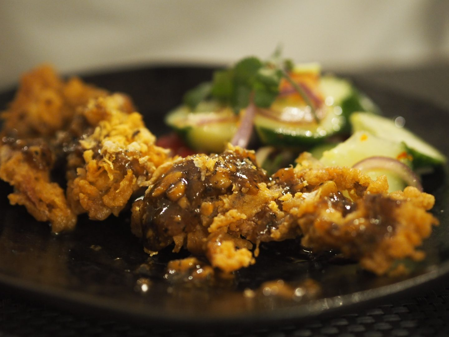 The Giggling Squid soft shell crab