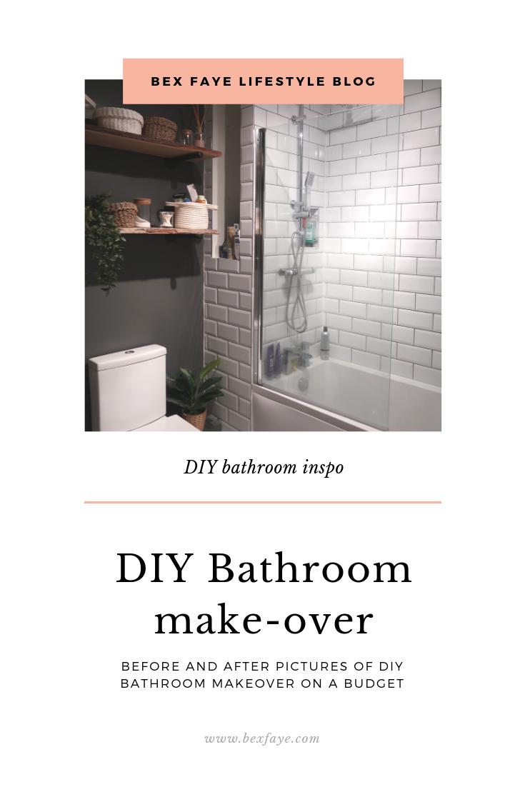 bex faye diy bathroom renovation