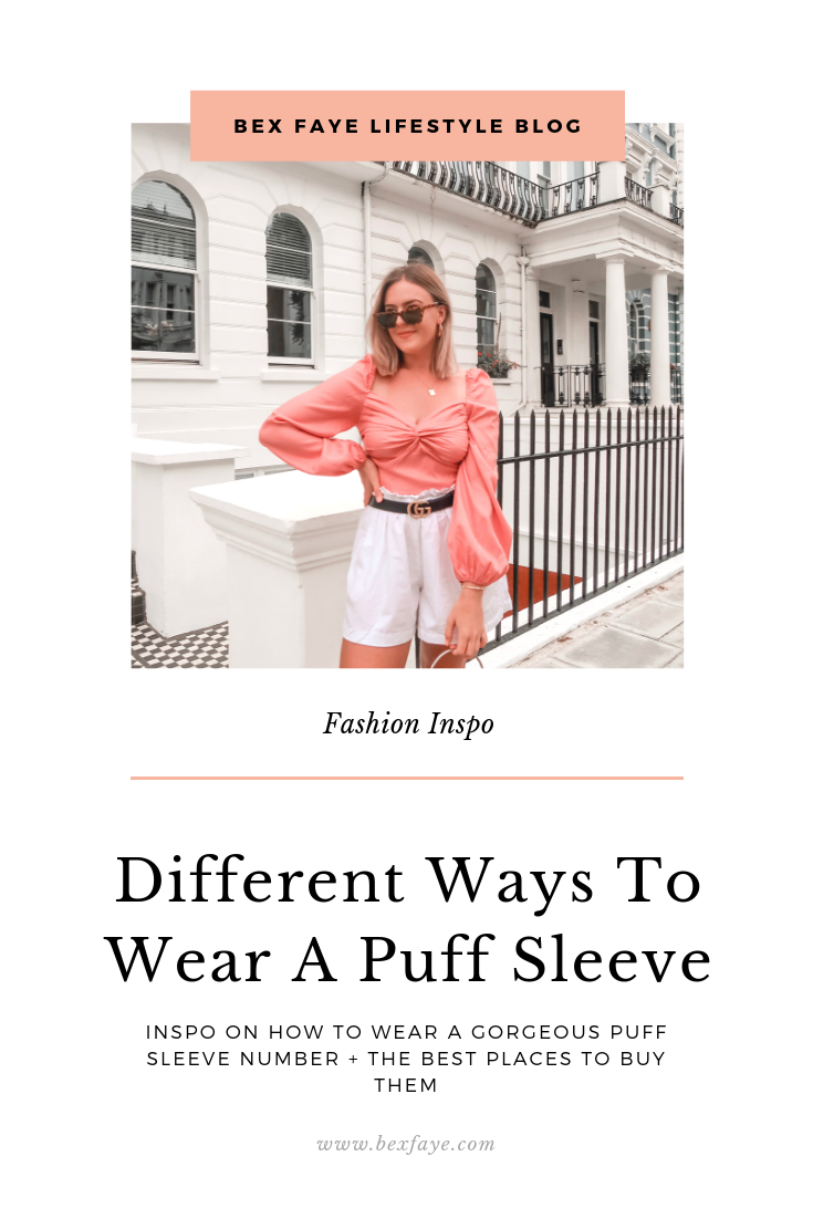 Different ways to wear a puff sleeve